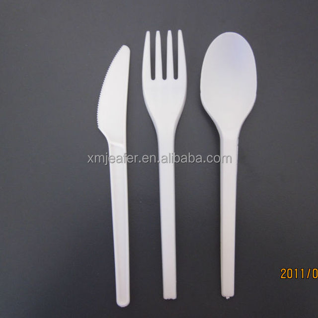 Biodegradable cutlery/Dinnerware spoon/fork/knife