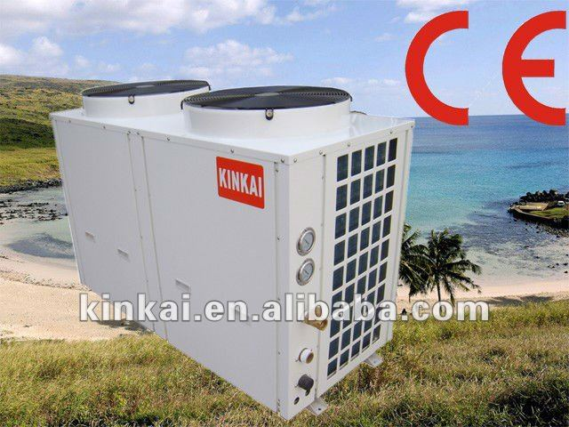 All in one controll panel swimming pool heater Air to air water double Source Floor heating heater solar Heat Pump