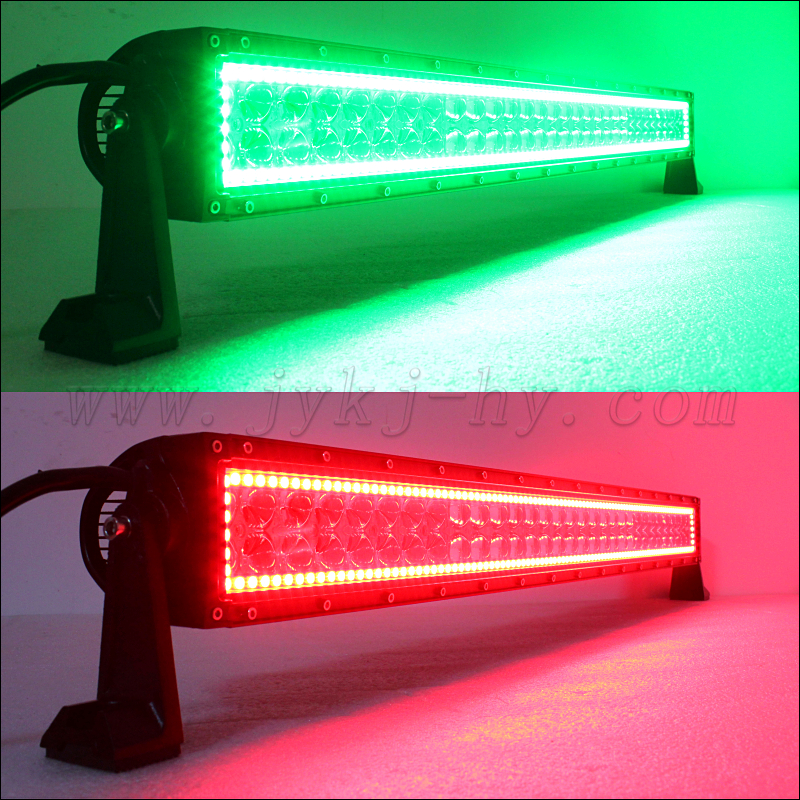 Wholesale multi color led light bar 4d rgb angle eyes remote control leds light bar