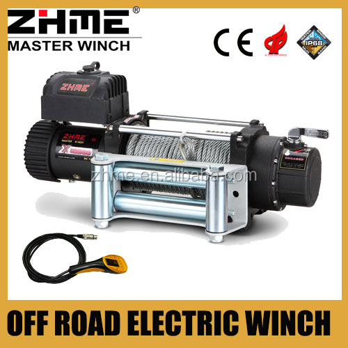 12500lbd off road 4x4 jeep electric winch