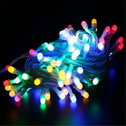 Battery operated multi-color ultra thin led light christmas led light