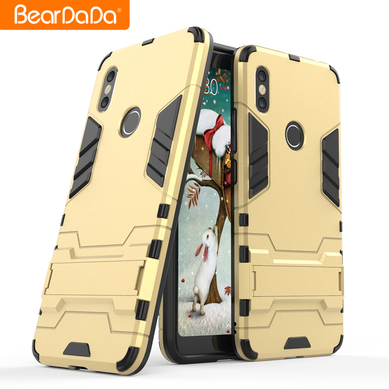 Popular Style tpu pc kickstand mobile back cover for xiaomi redmi s2 <strong>y2</strong> phone case