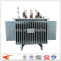 China S9 series 10/0.4kv 100kva single phase oil transformer manufacturer