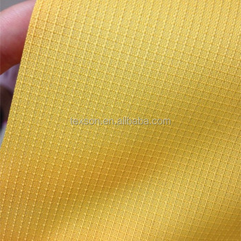 mini ripstop 300d polyester oxford fabric with pu coating