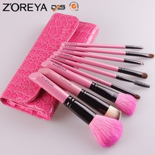 ZM97 Pink Z'OREYA Stock Wholesale Natural Hair Professional Makeup Brush Set