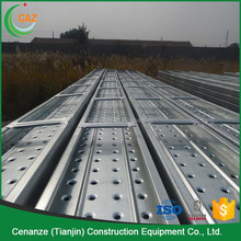 punching scaffolding metal plank scaffold parts