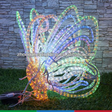2013 New design butterfly rope light motif,LED holiday decoration motif light