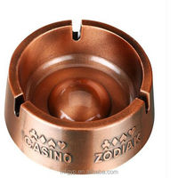 wholesale smokeless antique brass ashtray