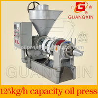 continuous squeezing safflower oil extracting machine in production line