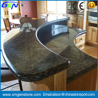 Low price professional design kitchen chinese granite countertops