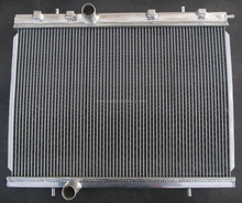 China auto full polished radiator pa66-gf30 for PEUGEOT 206