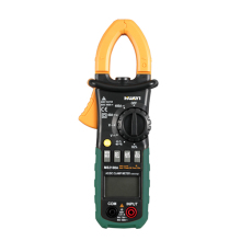 Automatic / Manual Range 4000 Counts AC DC Digital Clamp Meter MS2108A