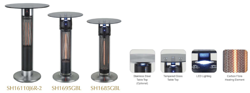 Scientec Electric Carbon Fiber Far Infrared Garden Heater