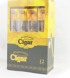 Wholesale high quality cartomizer e cigar disposable cheap e cigar with plastic tubes