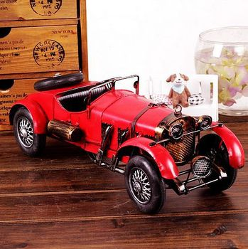 China home decor wholesale sport car model for cafe bar decoration