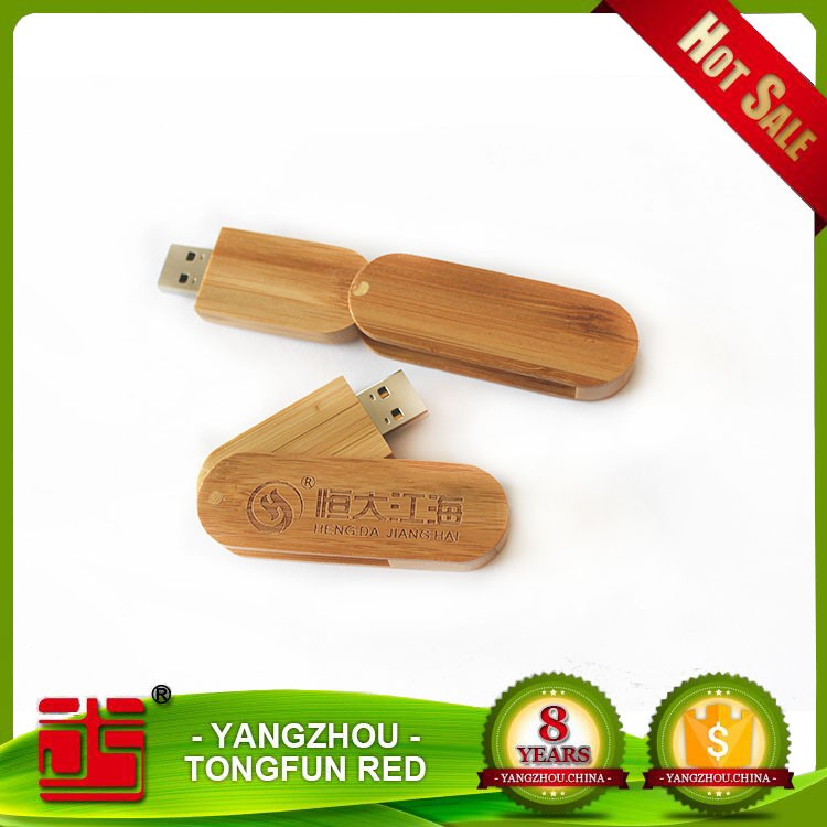 Eco-friendly bamboo woooden usb flash drive