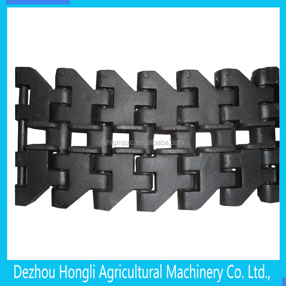 Good quality cultivator parts, track link track crawler belt for cultivator