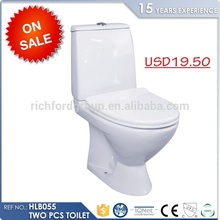 Wholesale Price Washdown Two Piece toilet pot price
