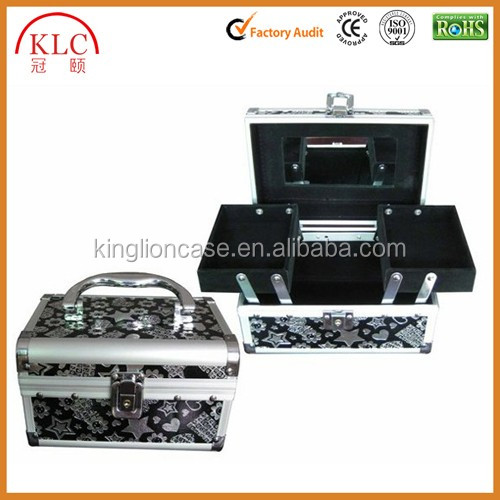 Best Quality Makeup Case Hot Sales Cosmetic Case Fashion Aluminum Beauty Case