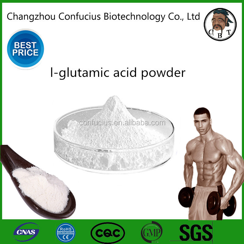 Factory Supply l-glutamic acid for Dietary Supplement