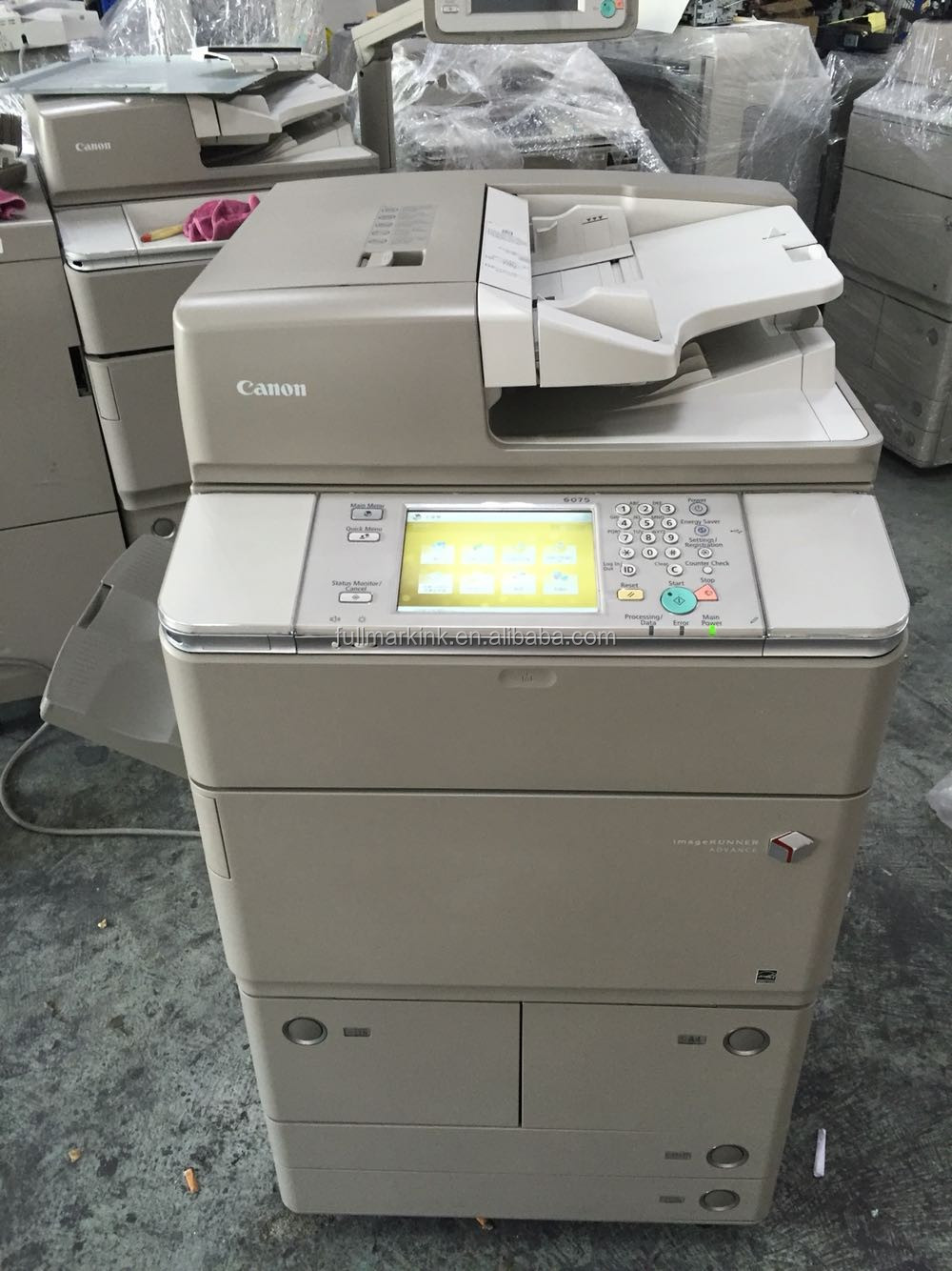 used status type IR copier machine ADV 6075 with sorter photocopier machines
