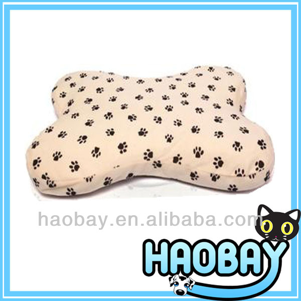 Bone Shaped Soft Decorative Pet Dog Beds Dog Cushion