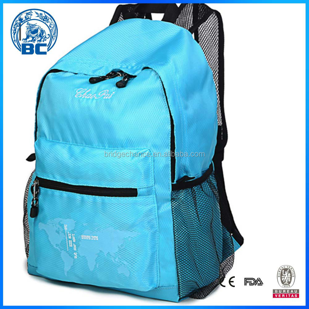High Quality Nylon Student Leisure Backpack