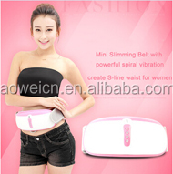 CE/RoHS Fu'an Aowei wholesle 2015 new massager shake shake slimming belt