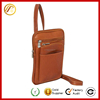 2016 New Products Hanging Travel Organizer Fashion PU Leather Passport Bag Handbag For Women Men