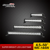 Super Slim led light bar single row led lightbar 12 volt automotive led lights for off road vehicles SM6019
