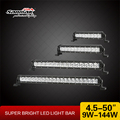 Super Slim led light bar single row led lightbar 12 volt automotive led lights for off road vehicle