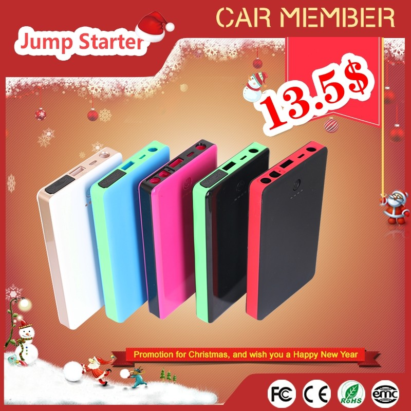 CAR MEMBER 2016 hot products portable car jump starter cheap power bank with promotional price for sale