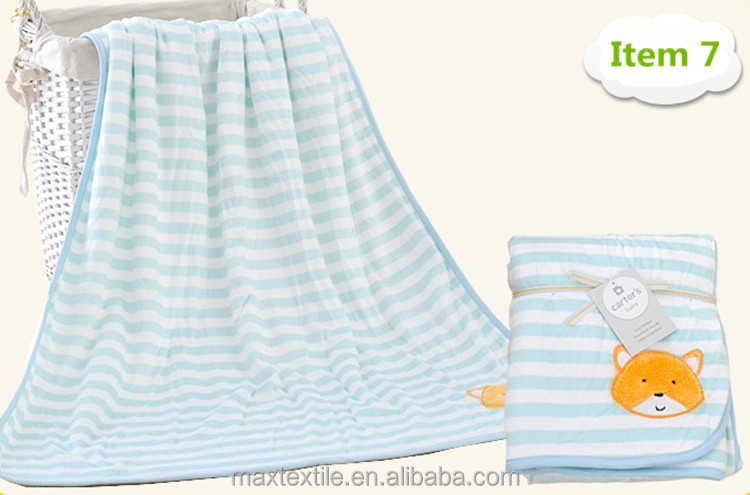 chenille knitted baby blanket with reasonable price