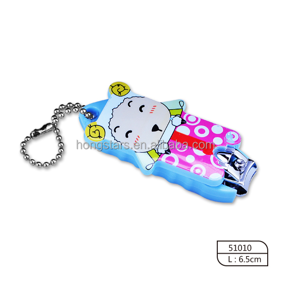 Baby Nail Clipper Set Nail Care Tools And Equipment Nail Clipper With Keychain