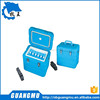 Ningbo factory OEM wholesale plastic vaccine cooling box with handle