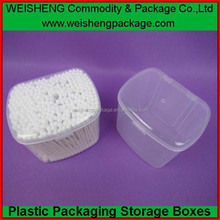 recycle cotton swabs cases,plastic cotton buds cases,cosmetic cotton swabs cases, eco friendly cotton swab cases