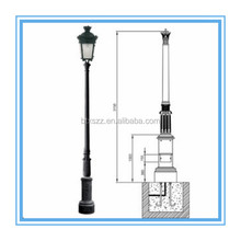 Lighting casting poles wholesales,lamp posts manufacturer,outdoor poles