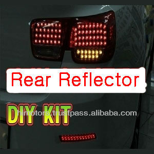 Chevrolet Malibu LED Rear Bumper Reflector DIY KIT