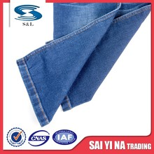 Woven 60 cotton 40 modal jersey denim fabric for jeans