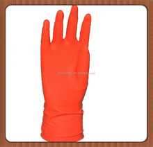 special offers Oil resistant and waterproof household latex gloves/warm cotton dishwashing latex gloves