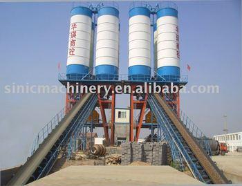 High efficency concrete batching plant