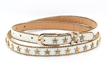 2015 latest indian beaded belt with full star