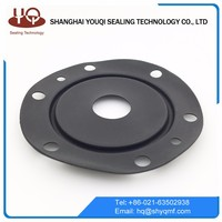 Diaphragm customized rubber seals cushion shock absorption