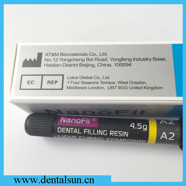 Dental Nanofil Composite/Dental Filling Resin/ Dental Curing Light Composite