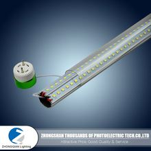 Favorable quality colorful rotatable high lumen 130lm/w T8 12v t8 led tube