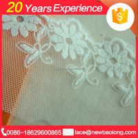 Hot Sales Professional Design Tulle Lace Fabric African French Net For Dress Triming