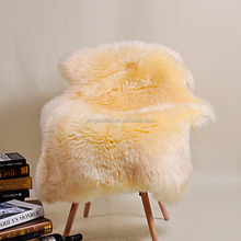 100% Australian sheepskin rugs colored carpet