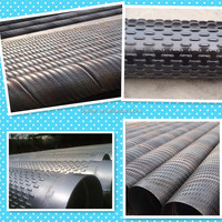 chinese manufature high strength stainless steel bridge slotted screen tube 88