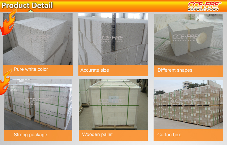 Aluminum Silicate Bricks : Ccefire aluminum silicate insulation brick for kiln view