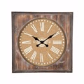 Wholesale new fashion unique design wood wall clock machine